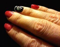 christmas nail-art