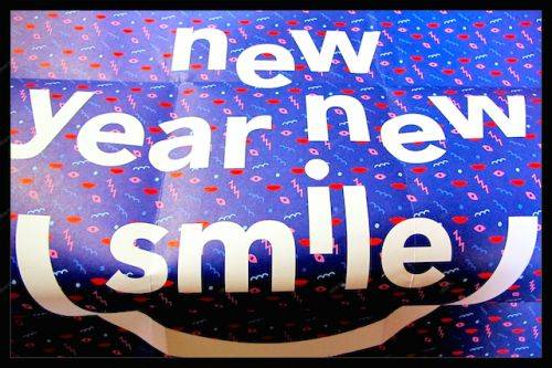 New year New smile