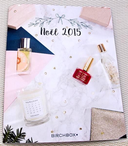 Birchbox Noël 2015
