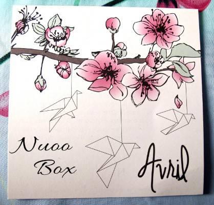 Nuoo box avril 2016