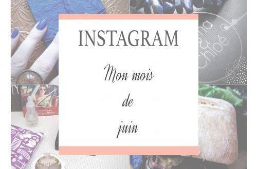 Instagram - Mon mois de juin 2016