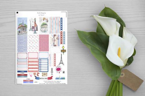 free printable set paris