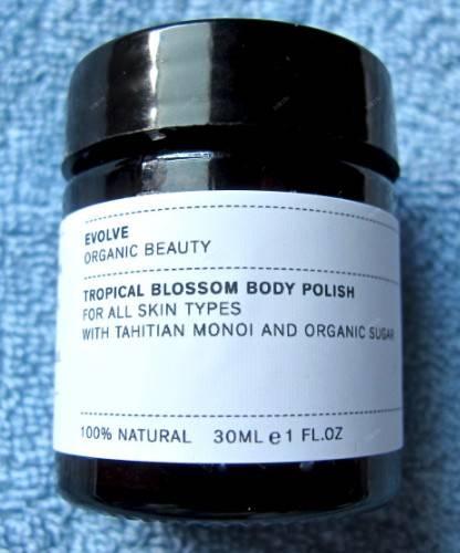 exfoliant body polish evolve