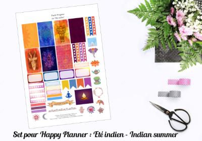 indian summer planner set