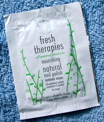 dissolvant nail remover fresh therapies