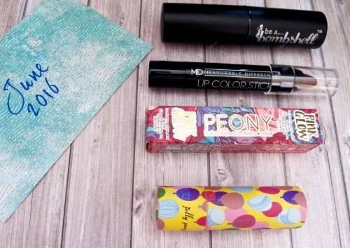 boxes beauté de juillet et août ✯ Glambag, Lip Monthly, Birchbox
