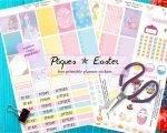 Stickers à imprimer pour planners ✯ Pâques (Easter free printables)