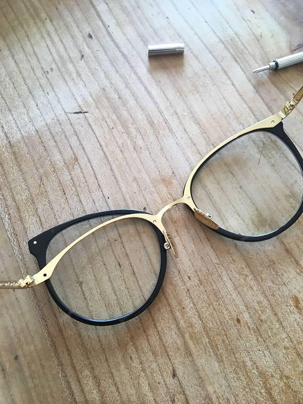 Changement vis lunettes Firmoo
