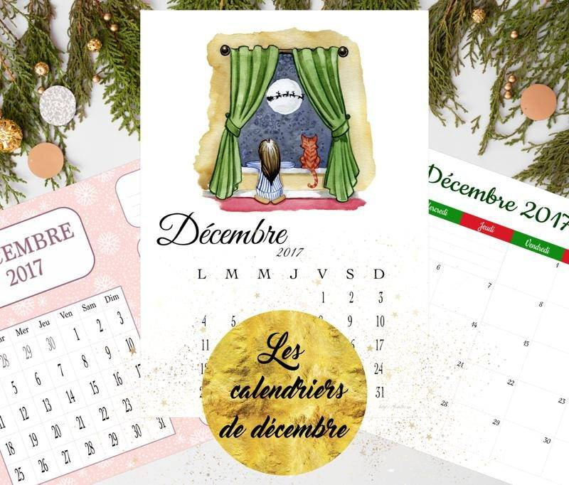 calendriers de decembre