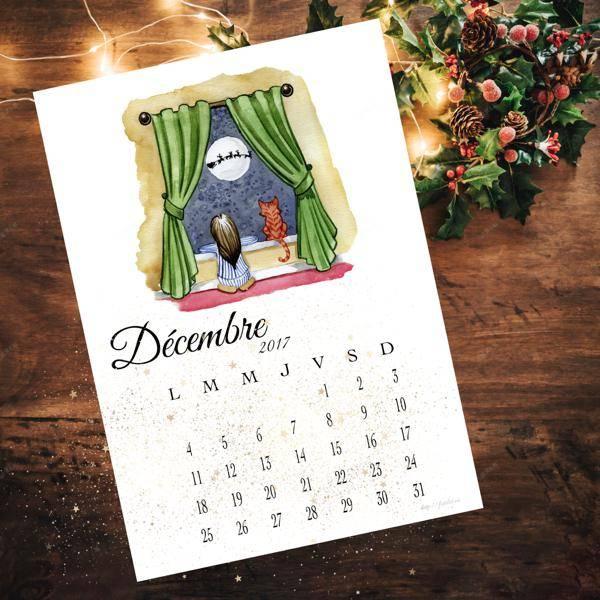 calendrier decembre 2017
