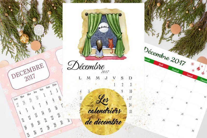 calendriers de décembre 2017