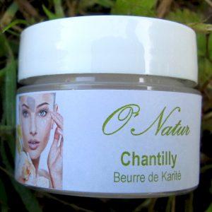 Chantilly beurre de karité O' Natur