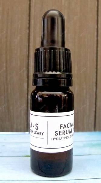 facial serum as apothecary