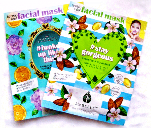 Masques en tissu #StayGorgeous and #Iwokeuplikethis - Biobelle