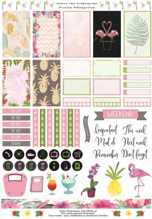 Stickers pour planner